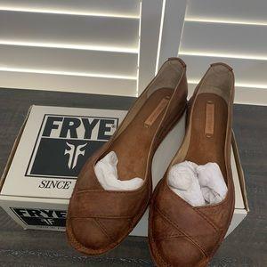 Frye cross ballet shoes